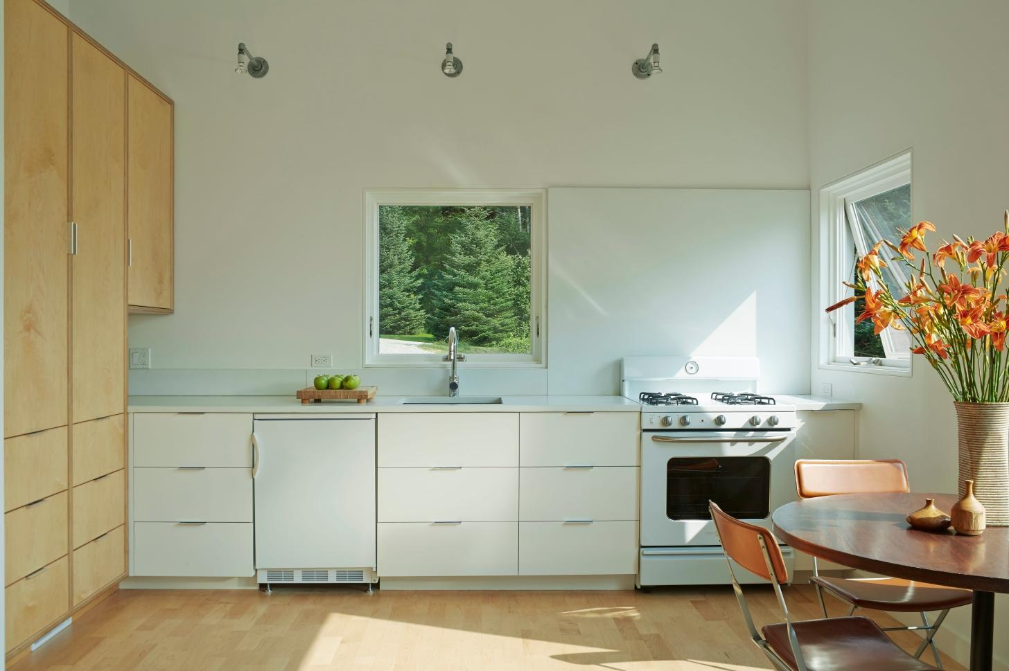 Micro House Elizabeth Liz Herrmann VT Architect